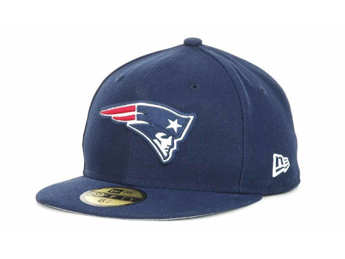 New England Patriots New Era NFL Official On Field 59FIFTY Hats