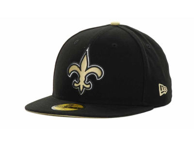 New Orleans Saints NFL Official On Field 59FIFTY Hats