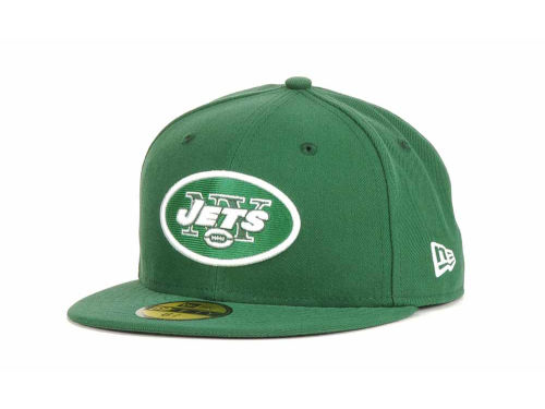 New York Jets New Era NFL Official On Field 59FIFTY Hats