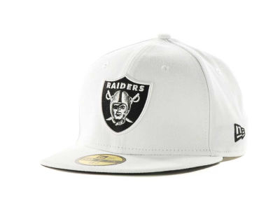 Oakland Raiders NFL Official On Field 59FIFTY Hats