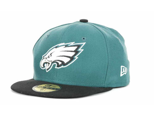Philadelphia Eagles New Era NFL Official On Field 59FIFTY Cap Hats