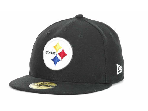 Pittsburgh Steelers New Era NFL Official On Field 59FIFTY Cap Hats