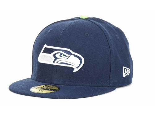 Seattle Seahawks New Era NFL Official On Field 59FIFTY Hats