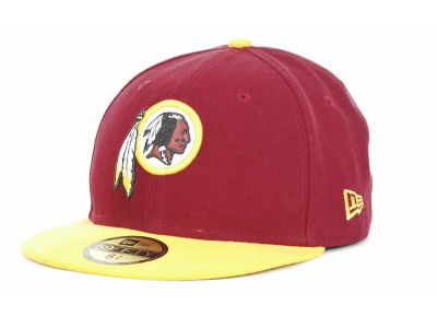 Washington Redskins NFL Official On Field 59FIFTY Hats