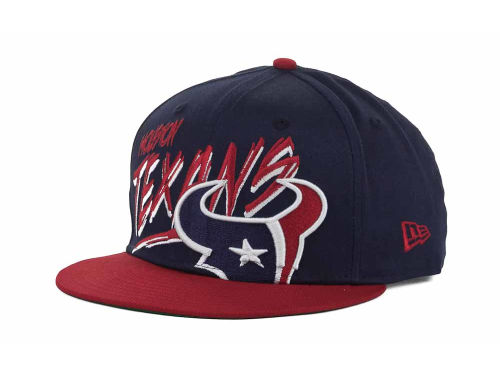 Houston Texans New Era NFL Word Scribbs 9FIFTY Snapback Hats