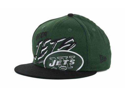 New York Jets NFL Word Scribbs 9FIFTY Snapback Hats