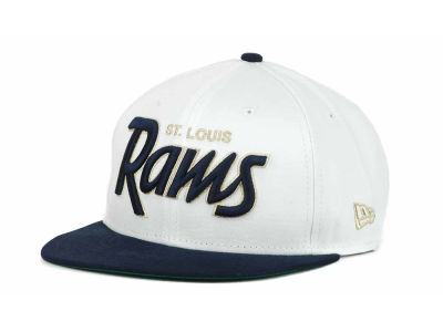 St. Louis Rams NFL White Top 9FIFTY Snapback Hats