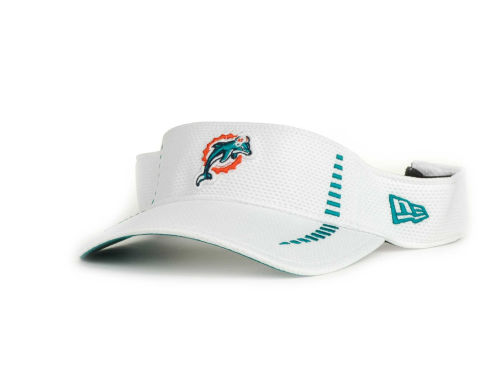 Miami Dolphins New Era NFL Training Camp Visor Hats