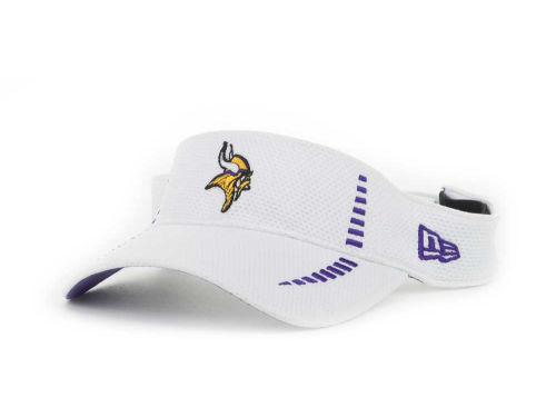 Minnesota Vikings New Era NFL Training Camp Visor Hats