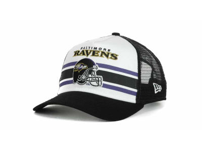 Baltimore Ravens NFL Spiral Stripe 9FORTY Hats