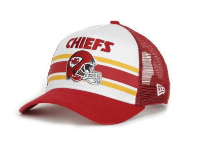 Kansas City Chiefs NFL Spiral Stripe 9FORTY Hats