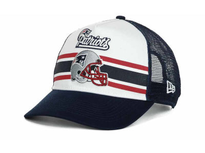 New England Patriots NFL Spiral Stripe 9FORTY Hats