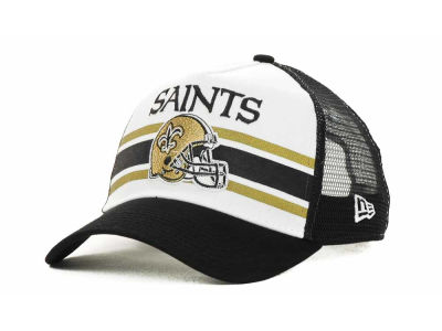 New Orleans Saints NFL Spiral Stripe 9FORTY Hats