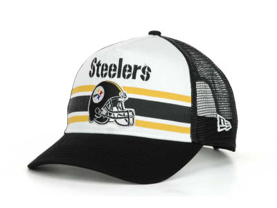 Pittsburgh Steelers NFL Spiral Stripe 9FORTY Hats