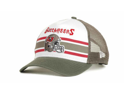 Tampa Bay Buccaneers NFL Spiral Stripe 9FORTY Hats