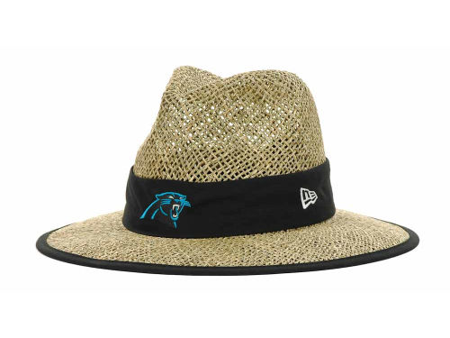 Carolina Panthers New Era NFL Training Camp Straw Hats