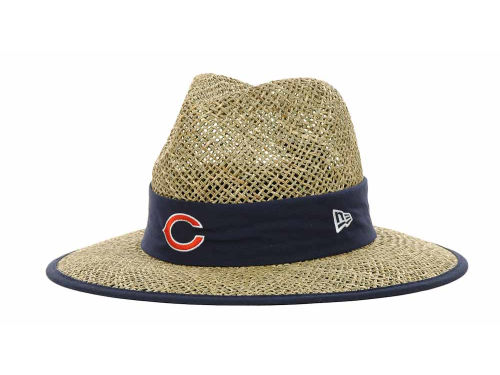 Chicago Bears New Era NFL Training Camp Straw Hats
