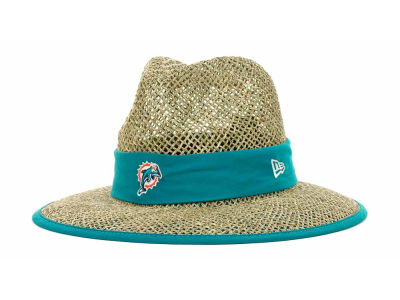 Miami Dolphins NFL Training Camp Straw Hats