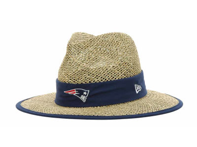 New England Patriots NFL Training Camp Straw Hats