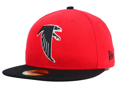 Atlanta Falcons New Era NFL Official On Field 59FIFTY Cap Hats