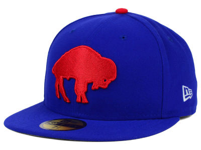 Buffalo Bills NFL Official On Field 59FIFTY Cap Hats