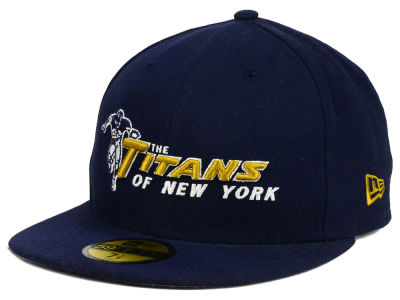 New York Titans NFL Official On Field 59FIFTY Cap Hats