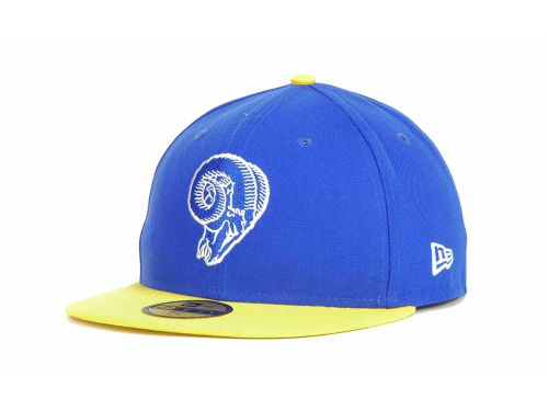 St. Louis Rams New Era NFL Official On Field 59FIFTY Hats