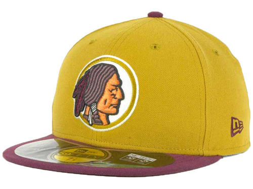 Washington Redskins New Era NFL Official On Field 59FIFTY Cap Hats