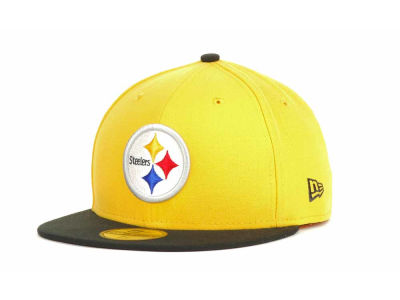 Pittsburgh Steelers NFL Official On Field 59FIFTY Hats