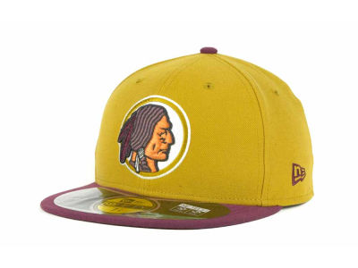 Washington Redskins NFL Official On Field 59FIFTY Cap Hats