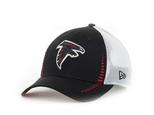Atlanta Falcons New Era NFL Team Color Training Camp Burner 39THIRTY Hats