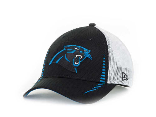 Carolina Panthers New Era NFL Team Color Training Camp Burner 39THIRTY Hats