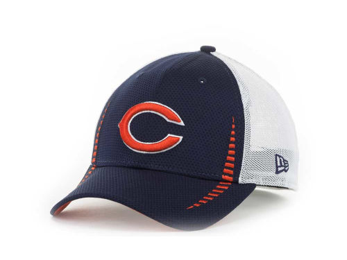 Chicago Bears New Era NFL Team Color Training Camp Burner 39THIRTY Hats