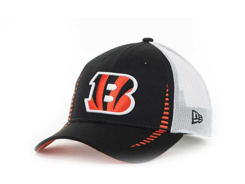 Cincinnati Bengals New Era NFL Team Color Training Camp Burner 39THIRTY Hats