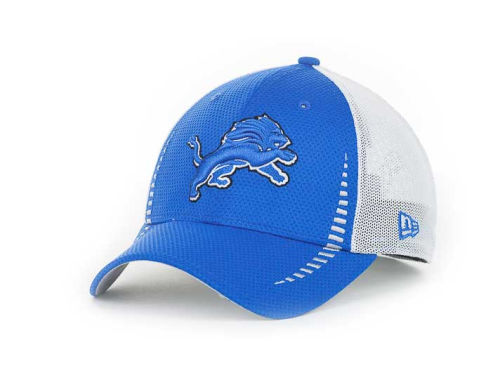 Detroit Lions New Era NFL Team Color Training Camp Burner 39THIRTY Hats