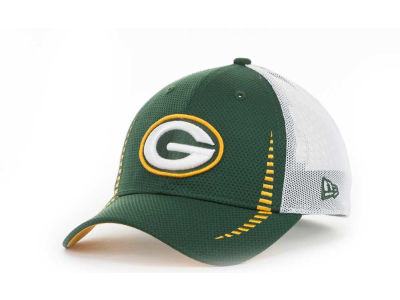 Green Bay Packers NFL Team Color Training Camp Burner 39THIRTY Hats