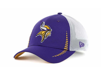 Minnesota Vikings NFL Team Color Training Camp Burner 39THIRTY Hats