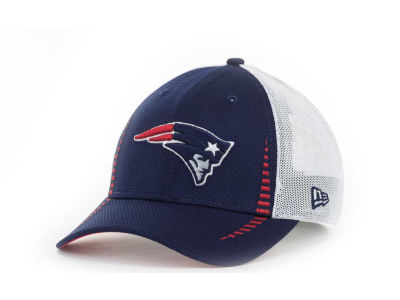 New England Patriots NFL Team Color Training Camp Burner 39THIRTY Hats