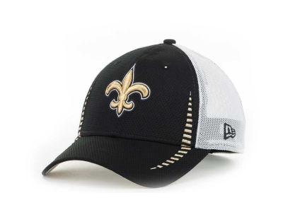 New Orleans Saints NFL Team Color Training Camp Burner 39THIRTY Hats