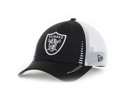 Oakland Raiders NFL Team Color Training Camp Burner 39THIRTY Hats