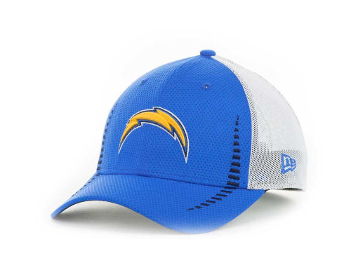 San Diego Chargers New Era NFL Team Color Training Camp Burner 39THIRTY Hats