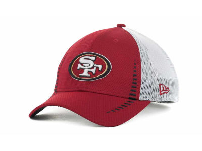San Francisco 49ers NFL Team Color Training Camp Burner 39THIRTY Hats