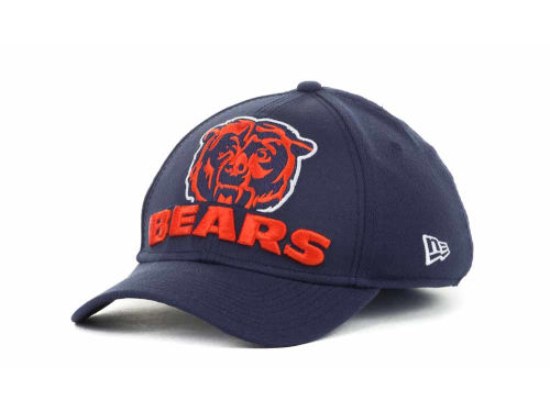 Chicago Bears New Era NFL Eight in the Box 39THIRTY Hats