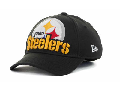 Pittsburgh Steelers NFL Eight in the Box 39THIRTY Hats