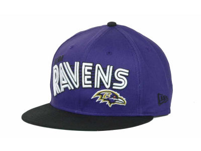 Baltimore Ravens NFL Swoop 9FIFTY Snapback Hats