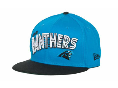 Carolina Panthers NFL Swoop 9FIFTY Snapback Hats