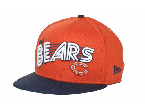 Chicago Bears New Era NFL Swoop 9FIFTY Snapback Hats