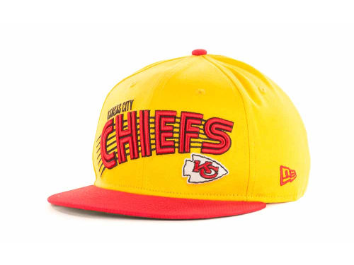Kansas City Chiefs New Era NFL Swoop 9FIFTY Snapback Hats