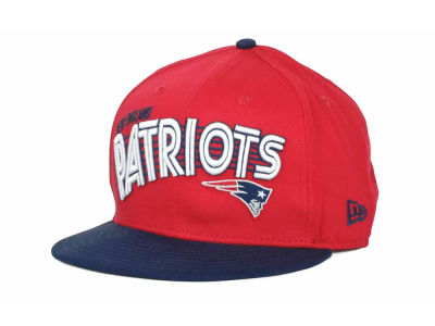 New England Patriots NFL Swoop 9FIFTY Snapback Hats