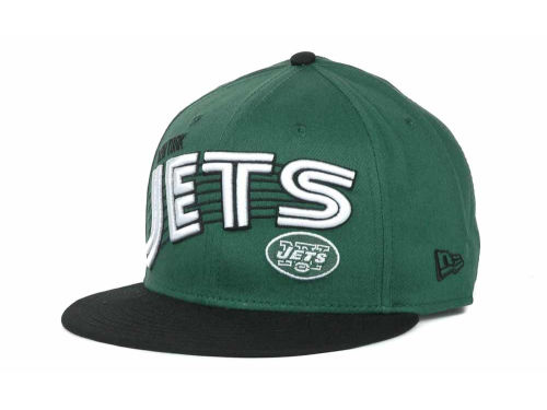 New York Jets New Era NFL Swoop 9FIFTY Snapback Hats